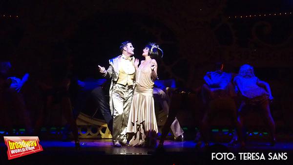 Ivan Labanda como Maestro de Ceremonias y Elena Gadel como Sally Bowles   Photo