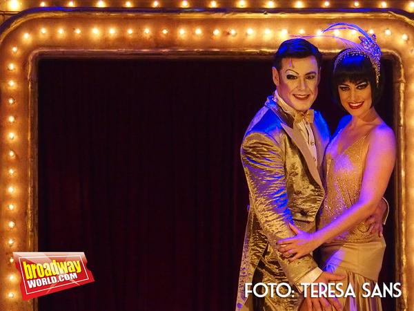 Ivan Labanda como Maestro de Ceremonias y Elena Gadel como Sally Bowles
