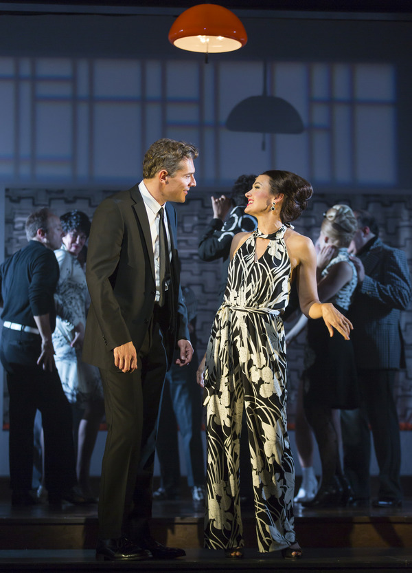 Photo Flash: First Look at Eden Espinosa, Mark Umbers, Damian Humbley and More in MERRILY WE ROLL ALONG at Huntington