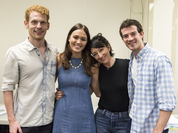 Photo Flash: Sneak Peek at Carmen Cusack and Company in Rehearsal for BRIGHT STAR at the Ahmanson; Cast Complete!