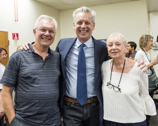 Walter Bobbie, Michael Ritchie and Jane Greenwood