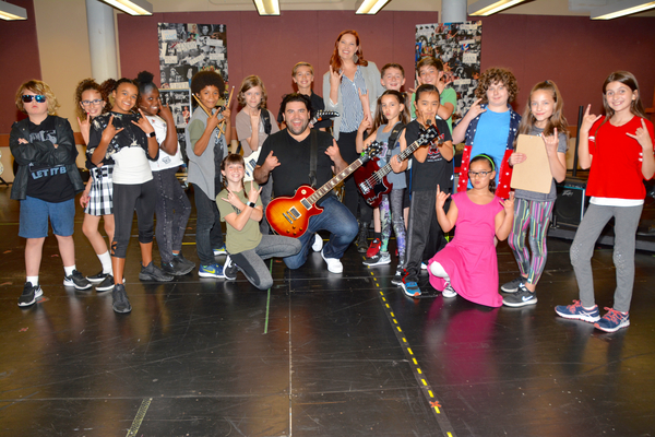 Photo Coverage: SCHOOL OF ROCK Touring Company Meets The Press
