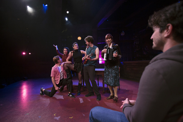 Christian Pedersen, Amanda Leigh Jerry, Cassidy Stirtz, Zack Spound, Diane King Vann  Photo