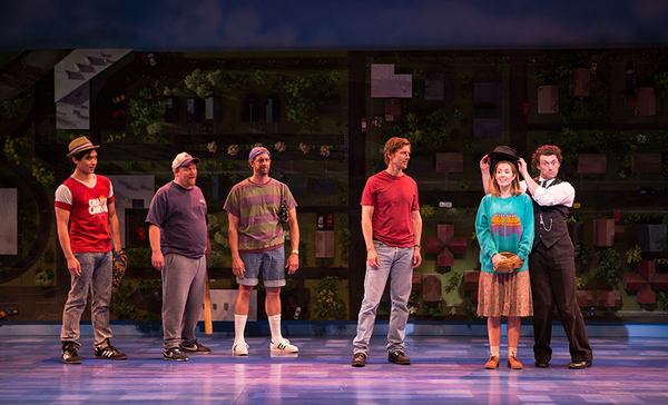 The cast of Benny & Joon, book by Kirsten Guenther, music by Nolan Gasser, lyrics by  Photo