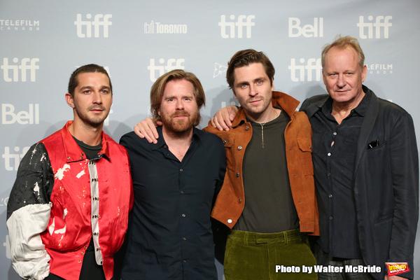 Photo Coverage: Shia LaBeouf & More Attend TIFF's Press Call for BORG/MCENROE