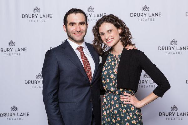 Director Scott Weinstein and Caitlin Collins