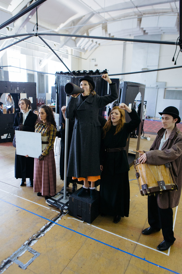 Photo Flash: Inside Rehearsal for National Youth Theatre's JEKYLL AND HYDE