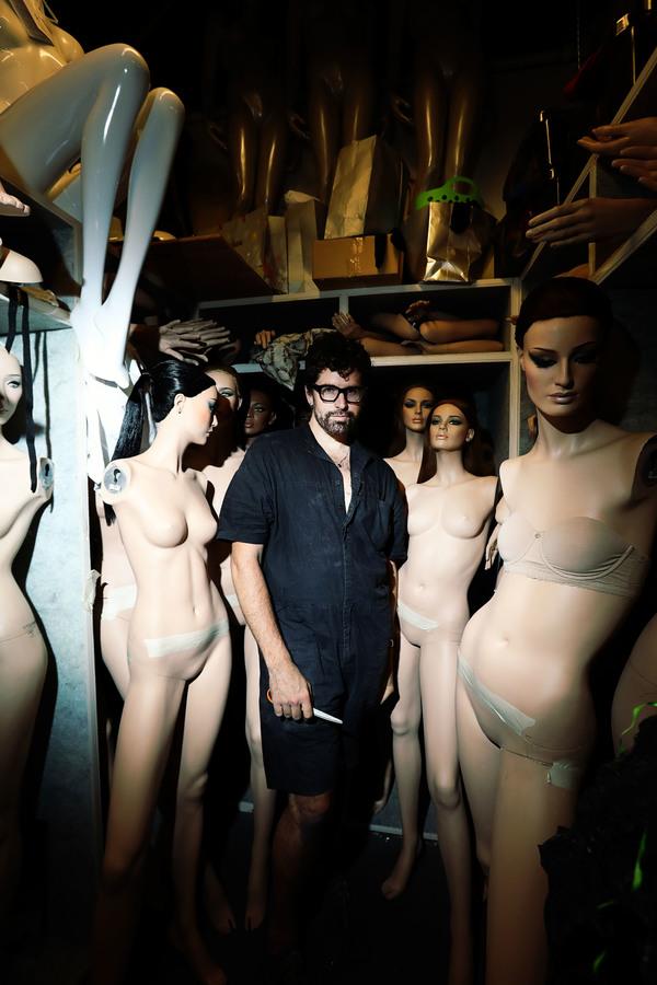 Machine Dazzle among Nieman Marcus's mannequins Photo