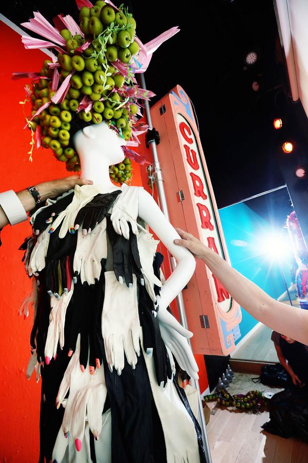 Photos: Costume Designer Machine Dazzle Decks Out Neiman Marcus Windows for Taylor Mac at the Curran