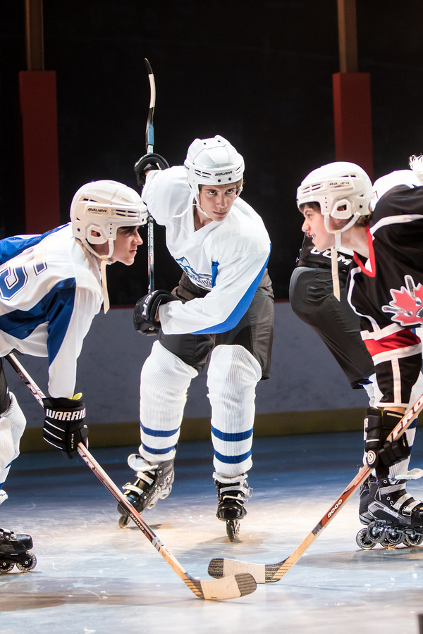 Photo Flash: New Shots of Michael Friedman's New Hockey Musical THE ABOMINABLES at CTC
