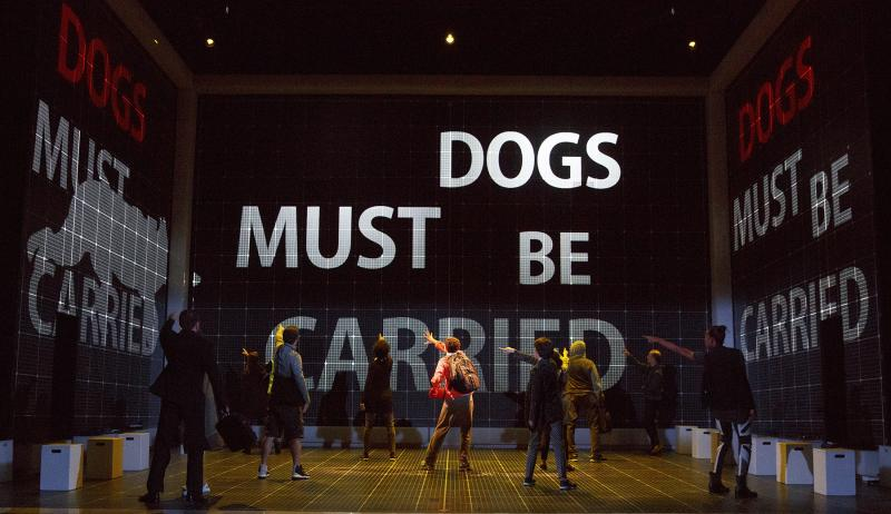 BWW Review: Theatrically Inventive CURIOUS INCIDENT Tour Captivates at OC's Segerstrom Center