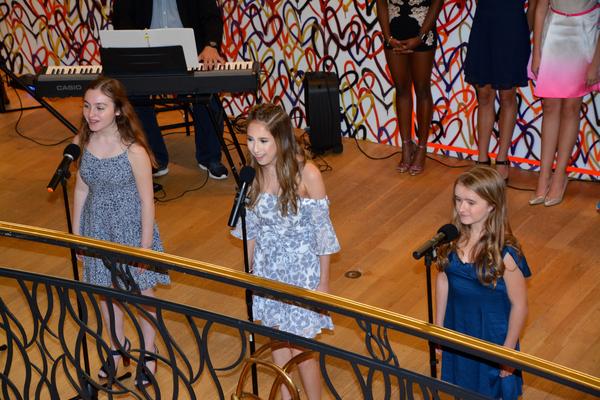 Madison Mullahey, Carrie Berk and Abigail Shapiro