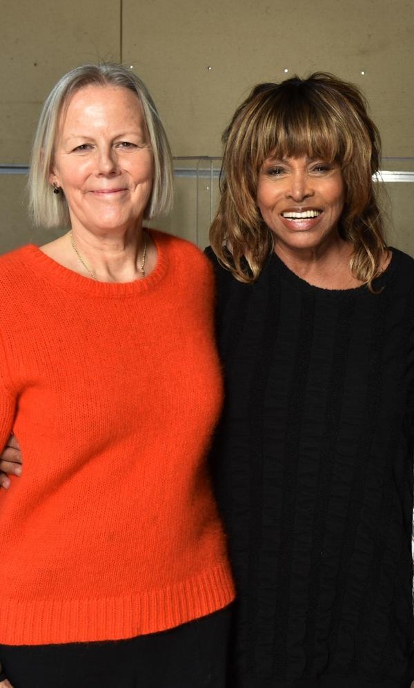 Phyllida Lloyd y Tina Turner Photo