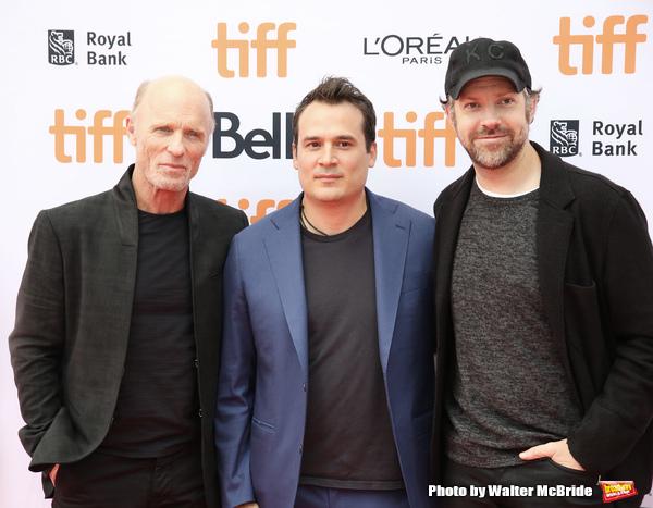 Ed Harris, Mark Raso and Jason Sudeikis Photo
