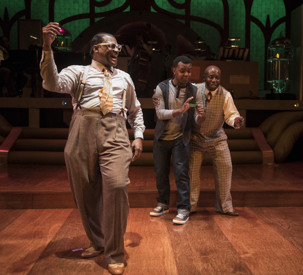 Photos: First Look at FIVE GUYS NAMED MOE at the Court Theatre