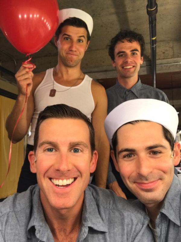 Patrick Graver and Chris Tipp; Matthew Alexander and Brad Frenette