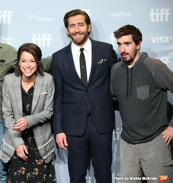 Tatiana Maslany, Jake Gyllenhaal and Jeff Bauman