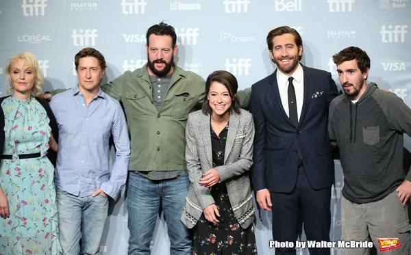 Miranda Richardson,  David Gordon Green, screenwriter John Pollono, Tatiana Maslany, Jake Gyllenhaal and Jeff Bauman