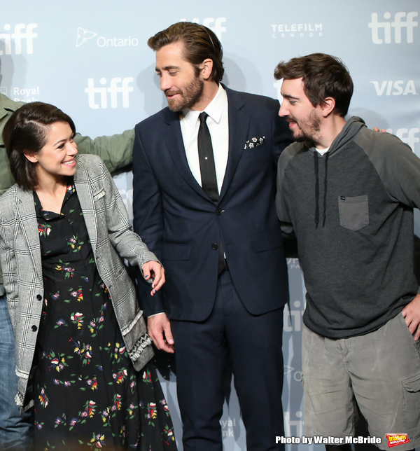 Tatiana Maslany, Jake Gyllenhaal and Jeff Bauman