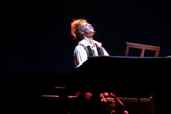 Nat Zegree as Mozart