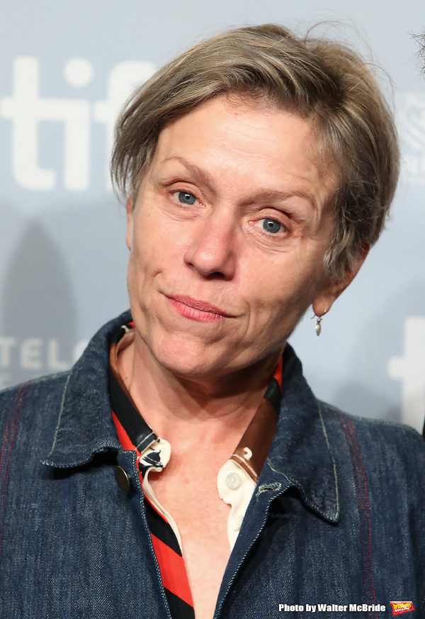 Photo Coverage: Frances McDormand & More Attend 'THREE BILLBOARDS ' Press Photo Call at TIFF
