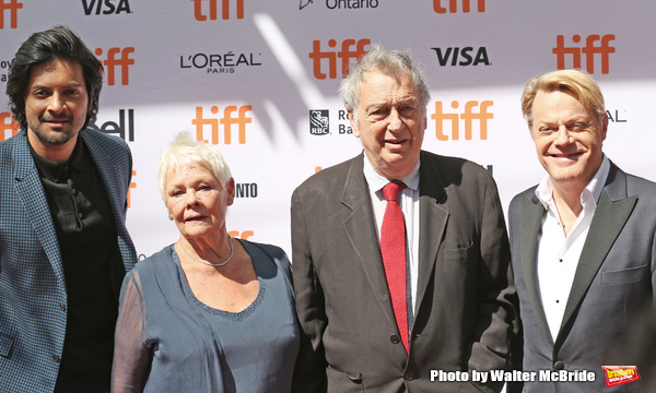 Ali Fazal, Judi Dench, Michael Gambon and Eddie Izzard Photo