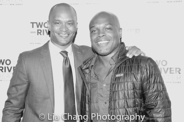 Carl Cofield and Ty Jones Photo
