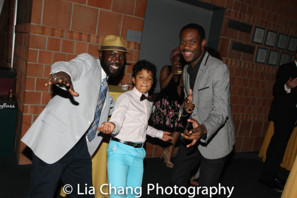 Charlie Hudson III, Owen Tabaka and Andrew Binger Photo