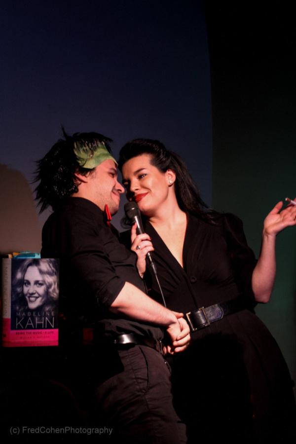 Hanna Burke with Adrian Rifat