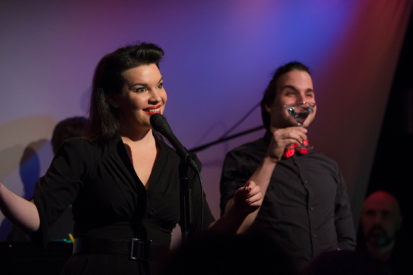 Hanna Burke with Adrian Rifat Photo