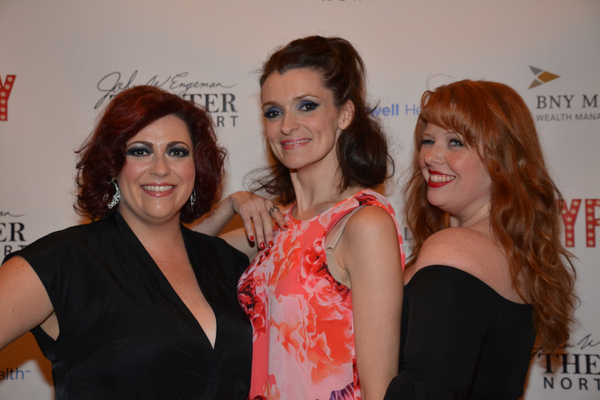 Amber Carson, Suzanne Mason and Jennifer Collester Tully