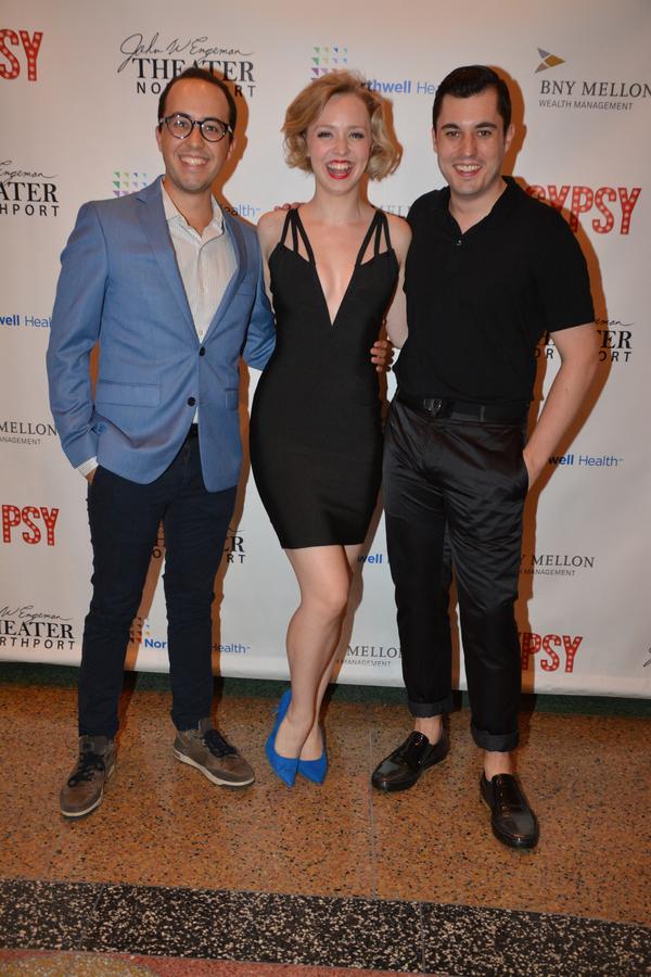 Michael J. Verre, Charity Van Tassel and Tyler Huckstep