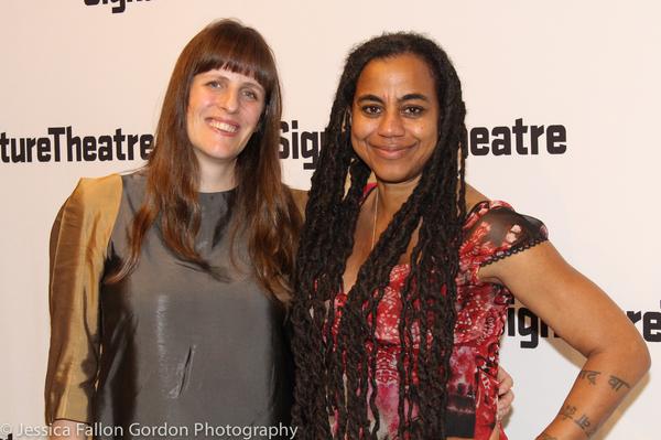 Sarah Benson and Suzan-Lori Parks