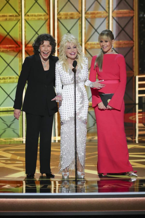 Lily Tomlin, Dolly Parton and Jane Fonda
