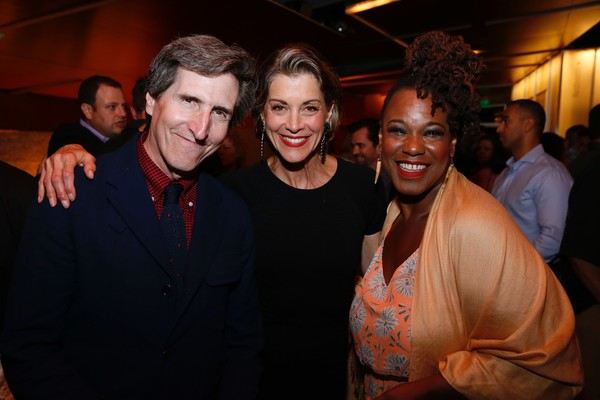 Paul Rudnick, Wendie Malick and Kecia Lewis