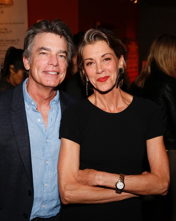 Peter Gallagher and Wendie Malick