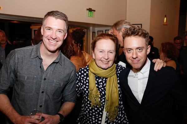 Brian Hutchison, Kate Burton and Max Jenkins Photo