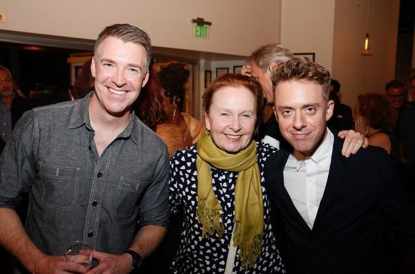 Brian Hutchison, Kate Burton and Max Jenkins