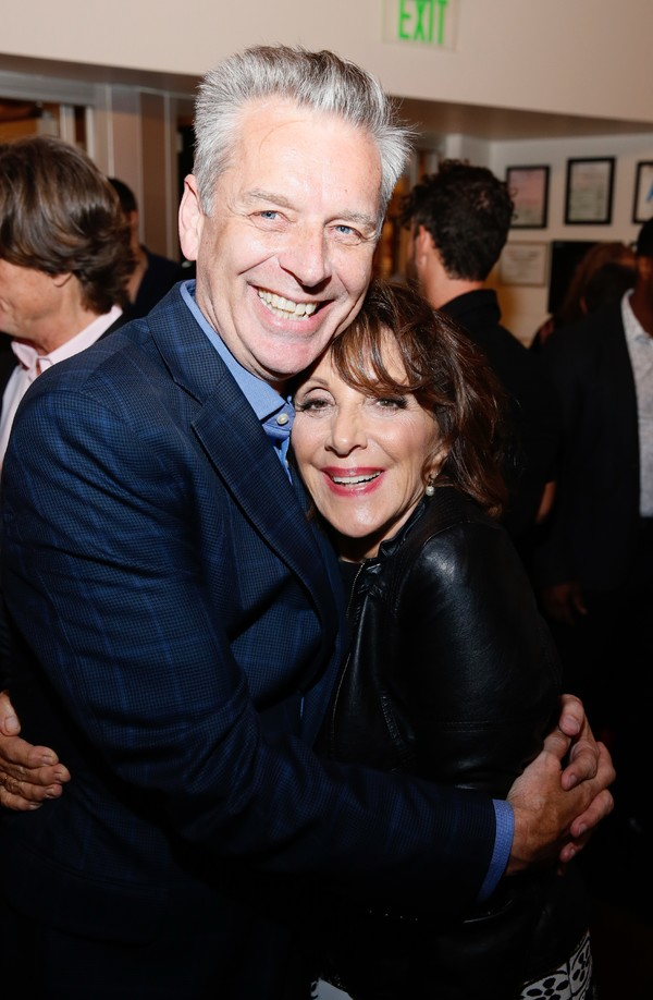 Michael Ritchie and Andrea Martin