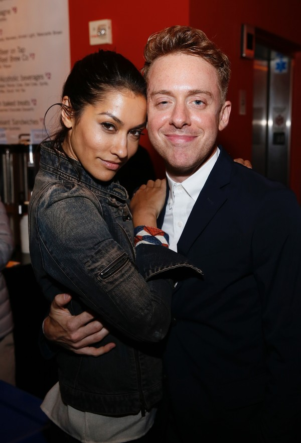 Janina Gavankar and Max Jenkins Photo