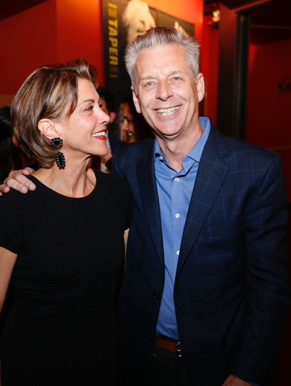 Wendie Malick and Michael Ritchie