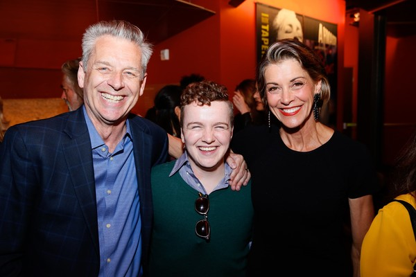 Michael Ritchie, Tom Phelan and Wendie Malick Photo