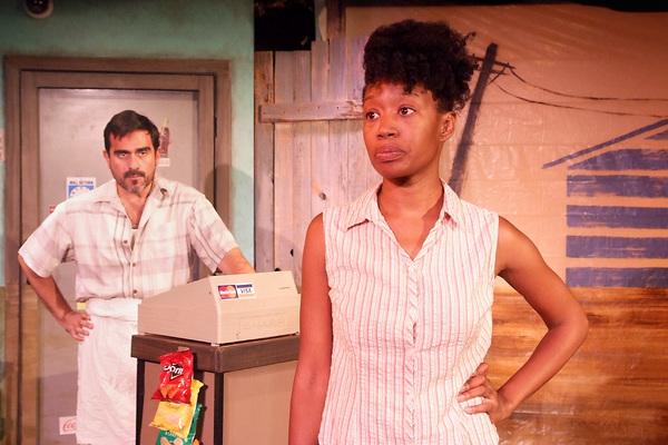Armando Rey and Maya Lynn Robinson Photo