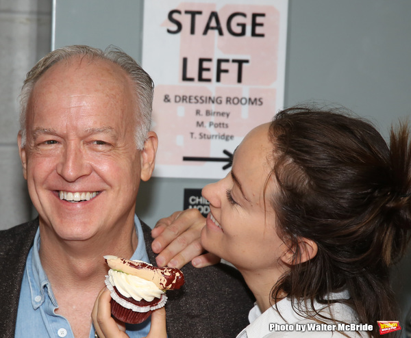Reed Birney and Olivia Wilde
