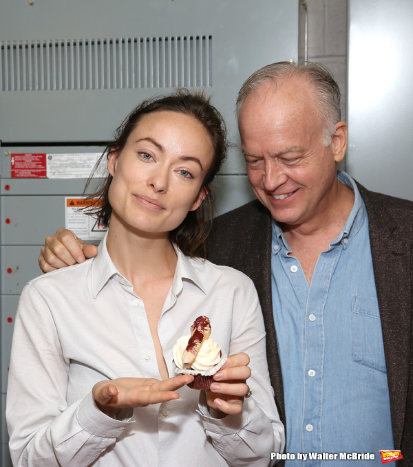 Olivia Wilde and Reed Birney