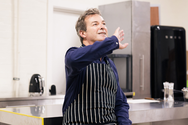 Photo Flash: In Rehearsal with Julian Clary and James Nelson-Joyce for LE GRAND MORT at Trafalgar Studios