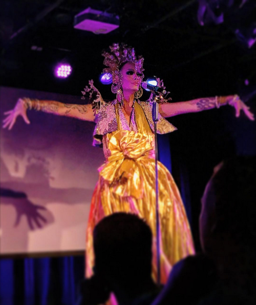 BWW Review: Raja Returns to Work the Runway in Her One-Woman Debut GAWDESS at the Laurie Beechman
