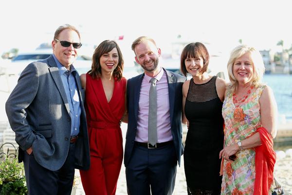 Ralph Opacic, Krysta Rodriguez, Scott Barnhardt, Susan Egan and Sherry Opacic Photo