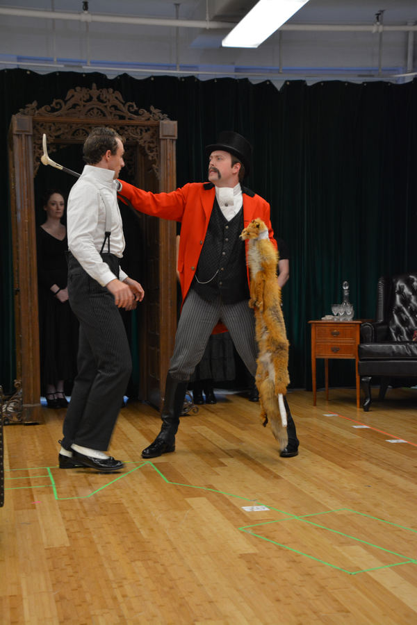 Photo Coverage: The D'Ysquith's Get Ready to Hit the Road for A GENTLEMAN'S GUIDE TO LOVE AND MURDER Tour!