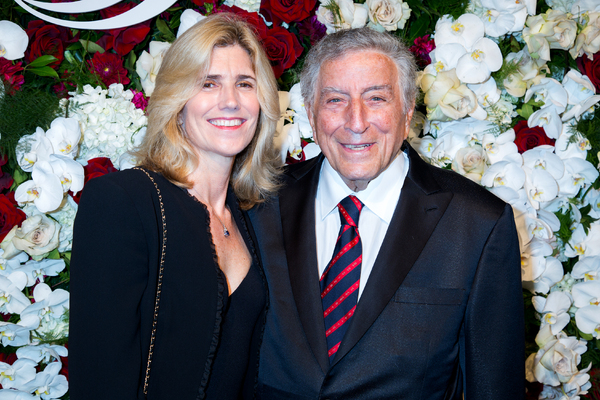 Susan Benedetto, Tony Bennett Photo